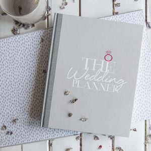 Wedding Planner Notebook And Journal - planners & records