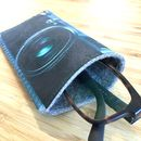 Retro Camera Glasses Case