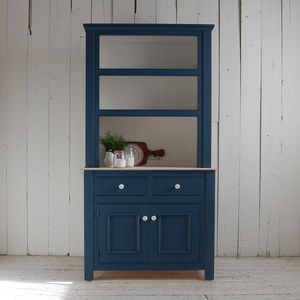 Blue Dresser - furniture