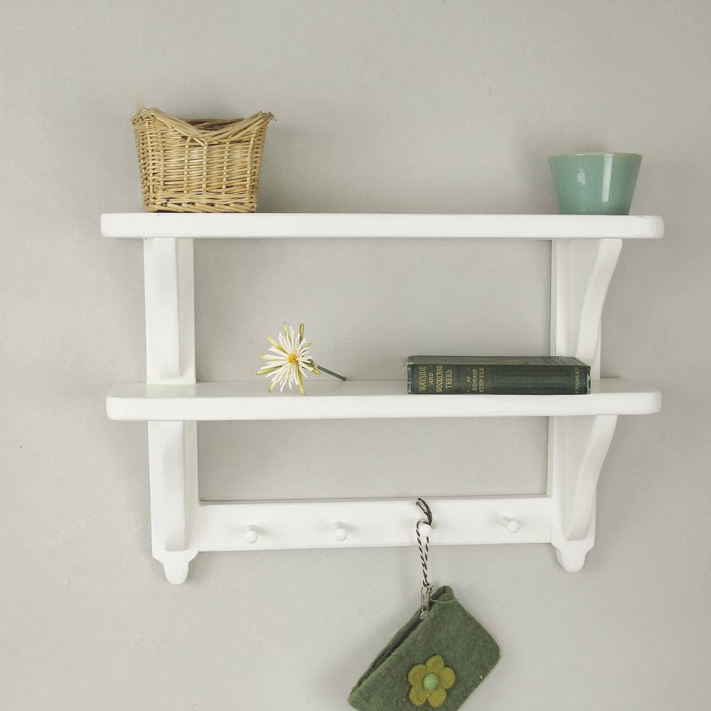 Kitchen Double Wall Shelf By Seagirl And Magpie
