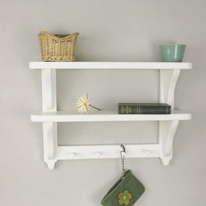 Kitchen Double Wall Shelf - shelves