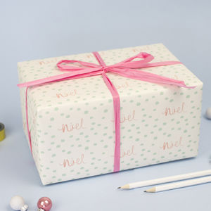 Noel Christmas Wrapping Paper - cards & wrap