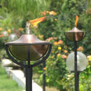 Garden Oil Torch Classica Steel Or Copper