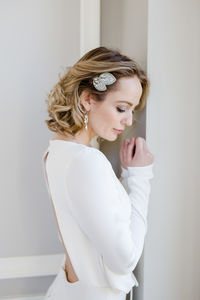Peace Hair Comb - bridal hairpieces