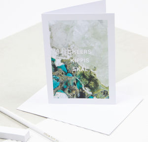 'Cheers, Kippis, Skål' Greeting Card - what's new