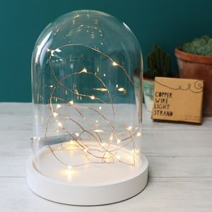 30 LED Battery Powered Wire String Lights - lighting