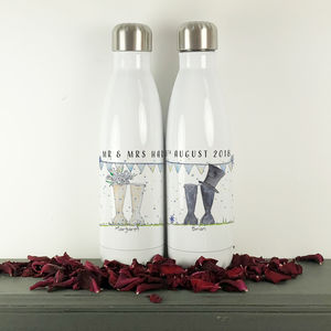 Personalised Wedding 'Mr And Mrs' Cola Bottles - jugs & bottles