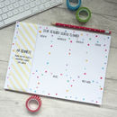 Star Teacher Weekly Planner