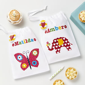Girls Personalised Party Bags