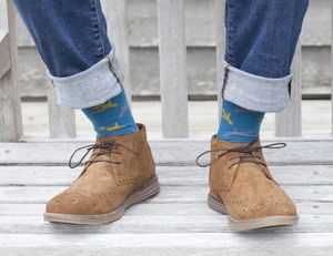 Men's Cotton Socks : Animals, Patterns And Hobbies