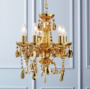 Kitsch Gold Chandelier