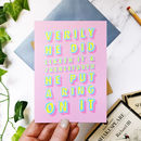 Funny Engagement 'Ring On It' Congratulations Card