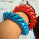 Handmade Contemporary Leather Bracelet