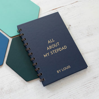 Personalised All About My Stepdad Book