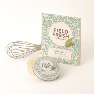 'Make Your Own Kit' Double Mint Foot Balm