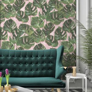 Monstera Wallpaper By Woodchip And Magnolia - wallpaper