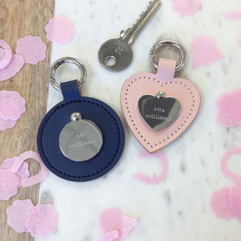His And Hers Personalised Keyring Set