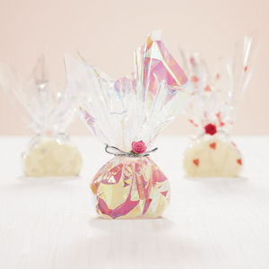 20 Wedding Favour Whipping Cream Fudge Twists - edible favours