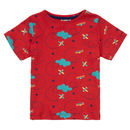 Kids Red Airplane T Shirt