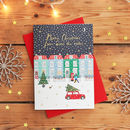 Christmas Houses And Car Card Pack
