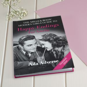 Personalised Mills And Boon Girl's Guide To Dating - books