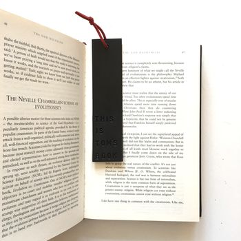 Leather Book Mark