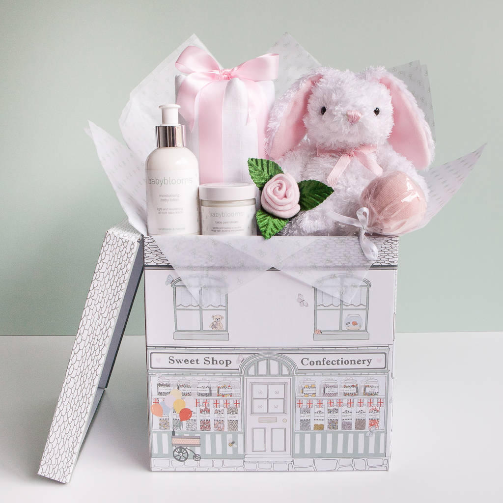 Baby girl baby shower gift hamper by babyblooms baby girl baby shower gift hamper negle Gallery