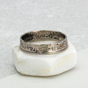 All Dates / Any Size Sixpence Ring 1953 To 1967