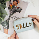 Personalised Name Leather Purse