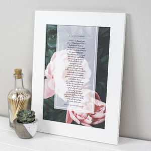 Personalised Grandma Poem Print