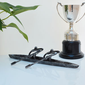 Sculling Rowers Sculpture - sculptures