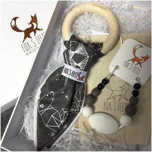 Mumma And Baby Constellations Teething Gift Set
