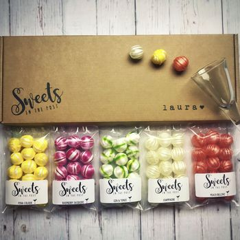 Personalised Boozy Box Cocktail Flavoured Sweets