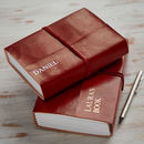 Personalised Handcrafted Medium Leather Journal