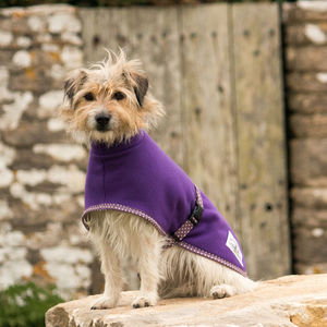 Fleece Dog Coat - dogs