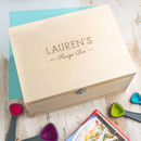 Personalised Kitchen Recipe Box