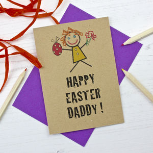 Daddy Easter Card