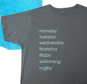 Personalised A Week Of Hobbies T Shirt - gifts for fathers