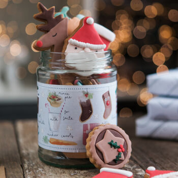 Night Before Christmas Biscuit Jar