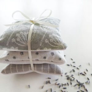 Grey Cow Parsley Lavender Bundle