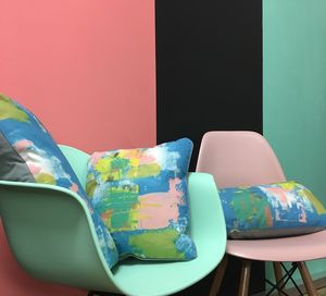 Abstract Painterly Cushion - whatsnew