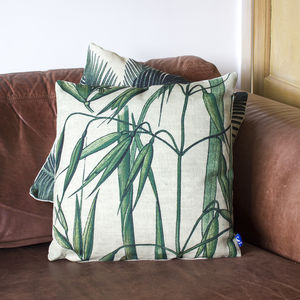 Bamboo Design Printed Cushion - cushions