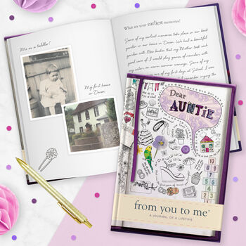 Dear Auntie, A Journal Of A Lifetime