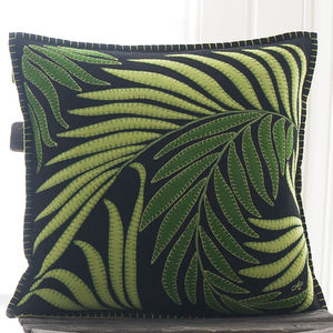 Tropical Palm Cushion