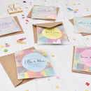 Personalised 'Save The Date' Confetti Envelopes