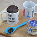 Enjoy Your Next Adventure World Monuments Mug Cake Kit