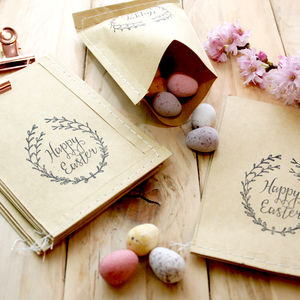 Easter Wreath Clear Rubber Stamps