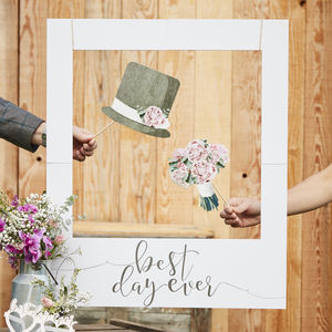 Giant Polaroid Photo Booth Frame Wedding Decoration