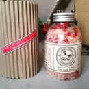Flower Power Pink Himalayan Bath Salts