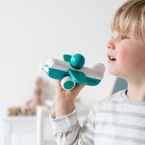 Personalised Wooden Plane Toy - traditional toys & games